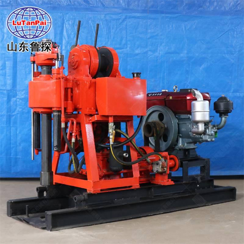 山东鲁探XY-180型岩芯钻机百米地质勘探回转式钻机液压钻探机