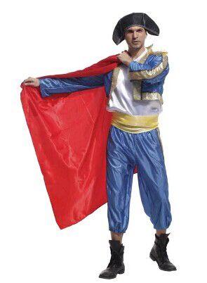 cos万圣节西班牙民族服装成人伦巴舞女女生服装格高三部落图片