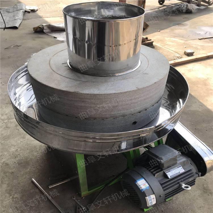 新型五谷杂粮石磨机 吉林 高效率天然豆腐石磨机文轩