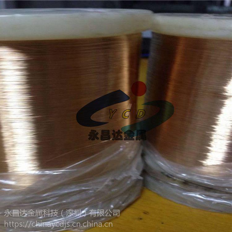 供应铍青铜丝 QBe2.0铍铜丝 精密特硬进口铍铜线 铍青铜丝