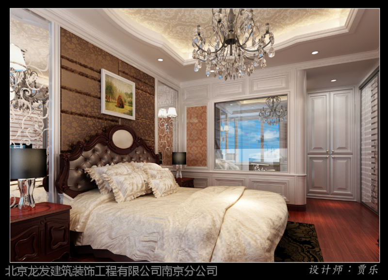 凤凰风格760平方别墅装修设计|法式山庄效果图别墅门古典图片