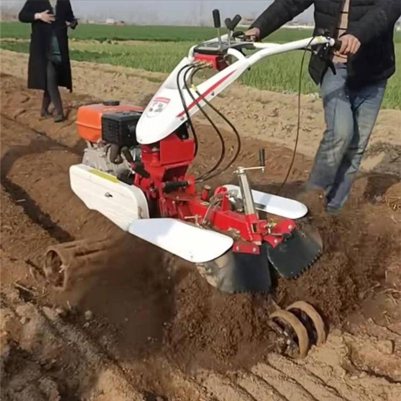 圣通农用果园挖沟机 柴油186手拉启动开沟机厂家