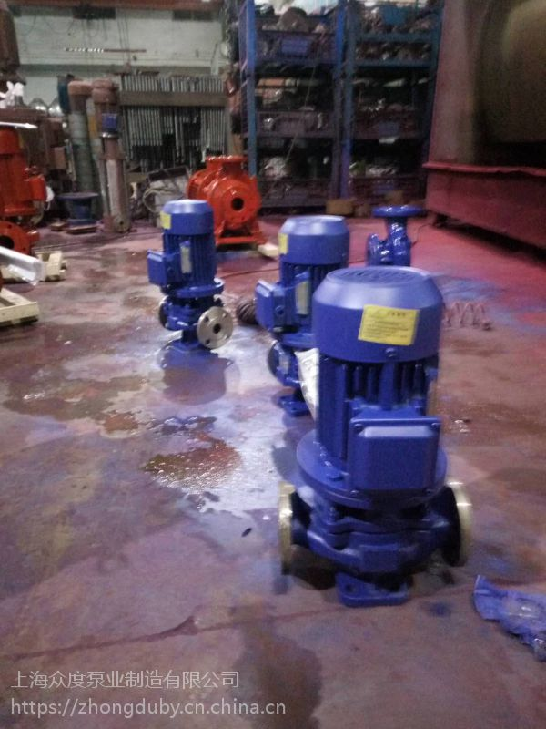 变频管道泵哪里有卖 IRG80-250I 37kw 铸铁材质 节能管道泵 石家庄众度泵业