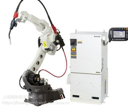 上海工业机器人进口代理公司