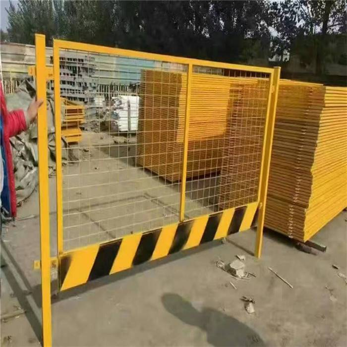 工地临边安全防护网批发郑州基坑护栏 施工基坑临边护栏厂