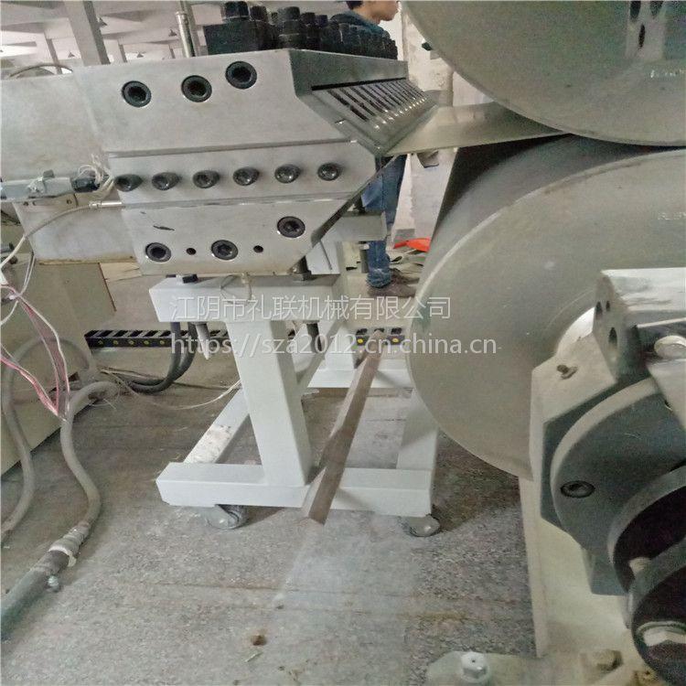 无锡钙塑地板生产设备哪家好 SPC地板生产机器厂家 礼联机械