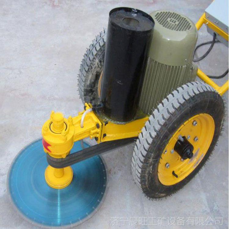 供应辰旺手推式电动切桩机外形美观切桩速度快工作效率高