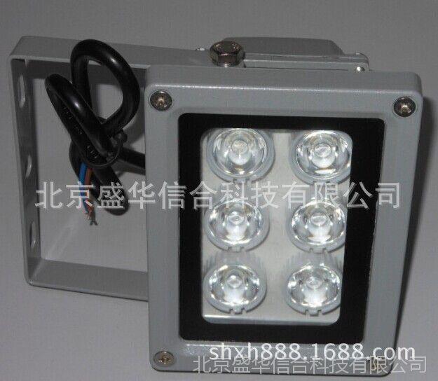 监控白光灯50米12V、6点阵12V白光灯、车牌补光灯、照车牌专用灯