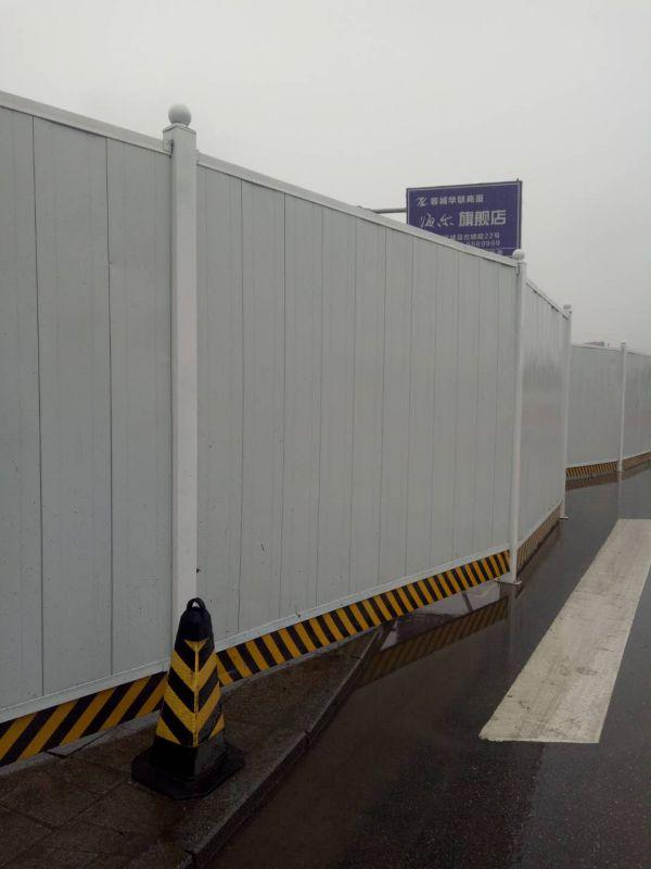 北京广告围挡生产厂家,建筑工程彩钢围挡哪家好,雄标金属不二之选。