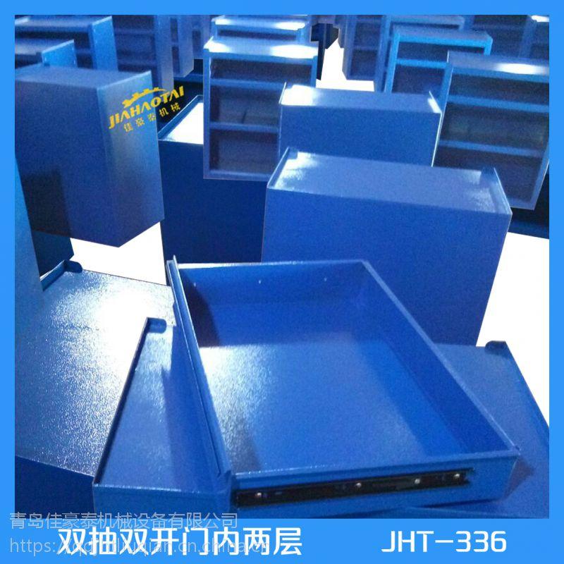 生产工具柜双开门铁皮柜 质量多色多款可选环保喷塑沂南县厂家