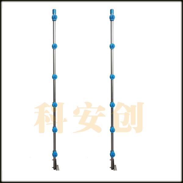 科安创脉冲电子围栏系统配件/新型中间承力杆绝缘子,中间承力杆专用