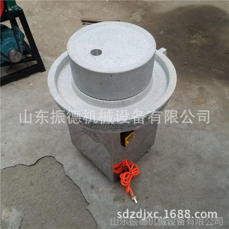 米浆石磨现货直销 砂岩电动石磨机 振德 豆浆生产石磨
