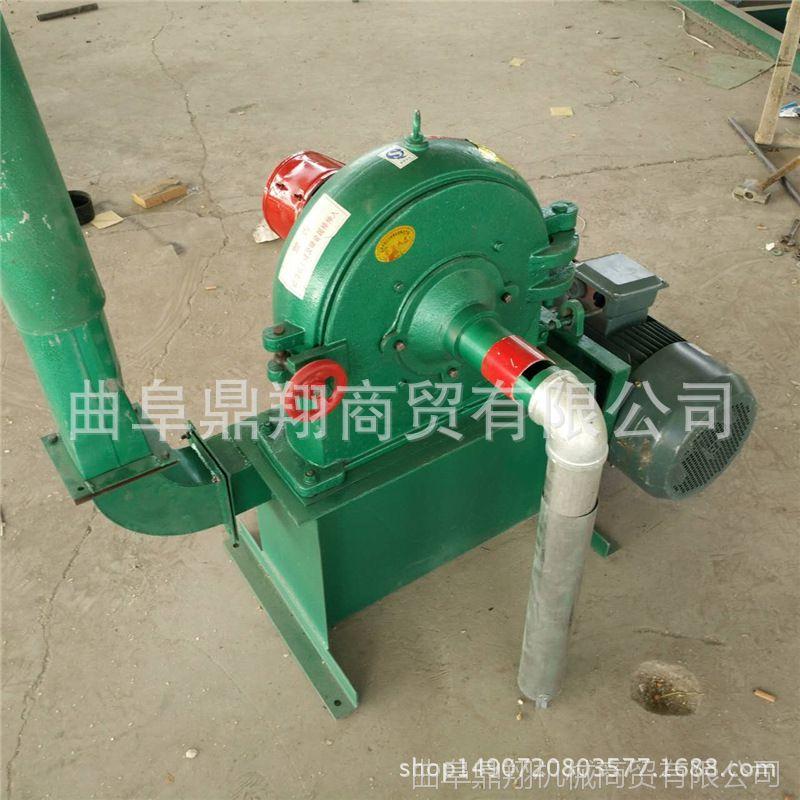 热销新款 电动齿盘式粉碎机 高效率粉碎机 玉米自动上料粉碎机