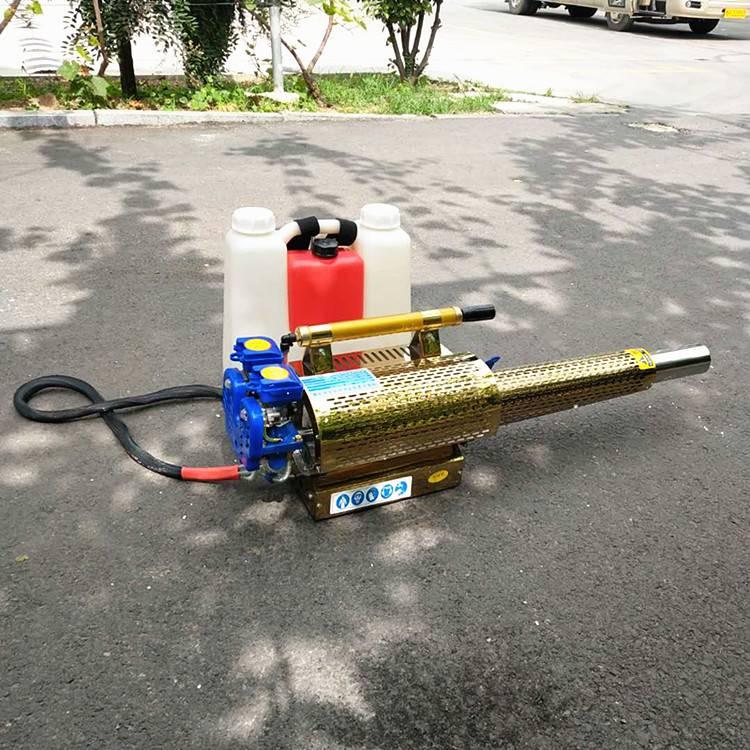 新款农用果树打药机 脉冲式弥雾机汽油动力烟雾水雾两用机 乐丰牌