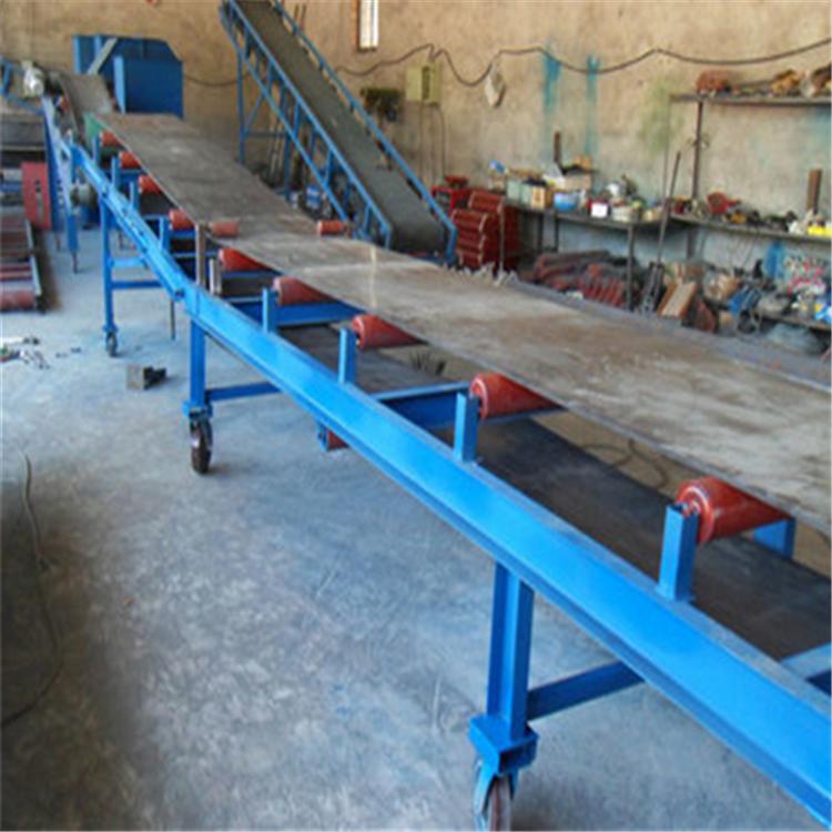 小米大型固定带式输送机 兴亚带式输送设备制作