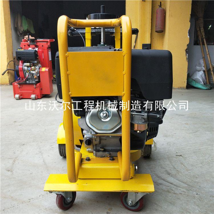 路面开槽机 混凝土路面开槽机 一次成型无尘高效率