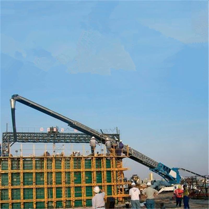 U型爬坡皮带机 六九重工各种带宽装卸皮带输送机