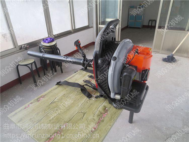 新型路面地缝清理吹风机 小型轻便背负式汽油吹风机