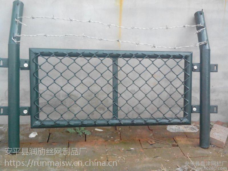 学校球场围栏 勾花网护栏 浸塑围栏 安平厂家直销