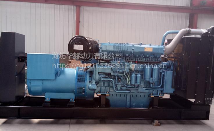 潍柴重机WHM6160MD628-5柴油机 潍柴动力重机500kw千瓦柴油发电机组