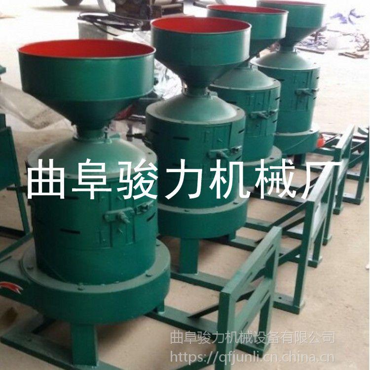 批发 小型高效大米谷子碾米机 水稻脱壳机 砂棍碾米机 骏力