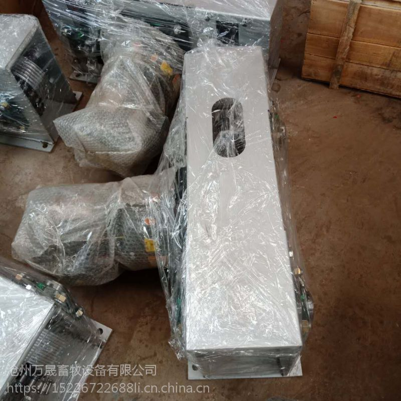 河北万晟畜牧设备实体厂家直销304不锈钢材质的刮粪板设备
