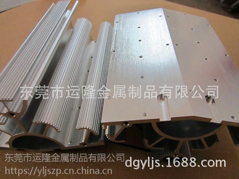 LED28W-路灯散热片 东莞 深圳 铝型材挤压厂直销 CNC精密机加工 来图来料开模定制