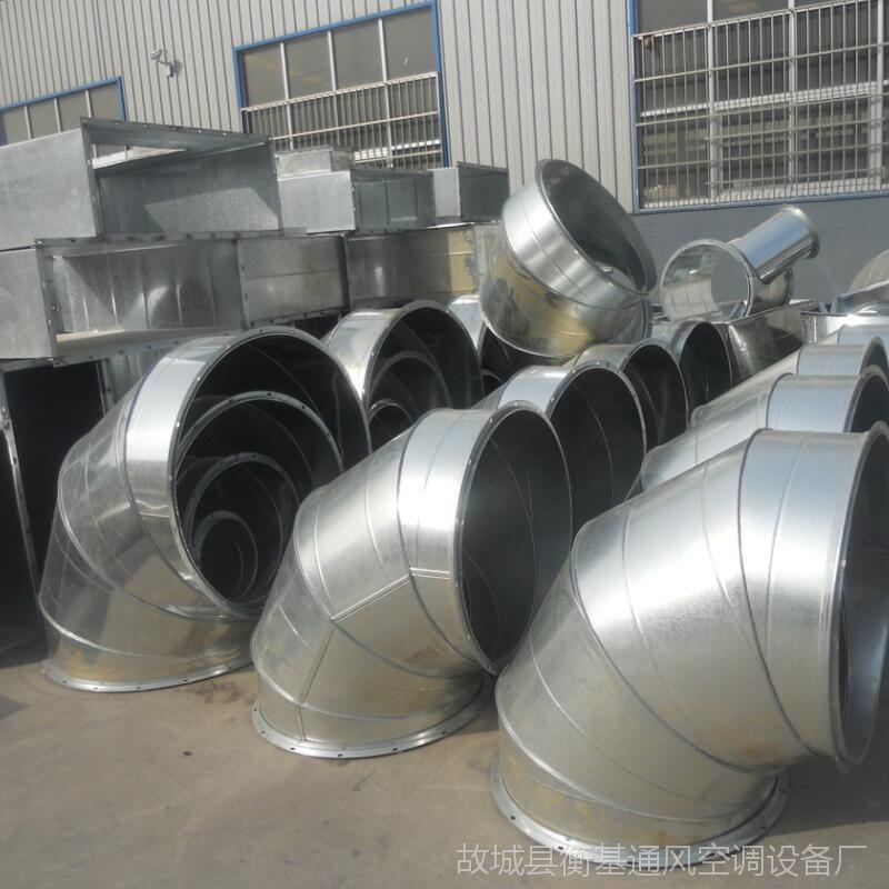 方形镀锌白铁皮共板风管工厂车间排烟不锈钢通风管道风管厂家加工