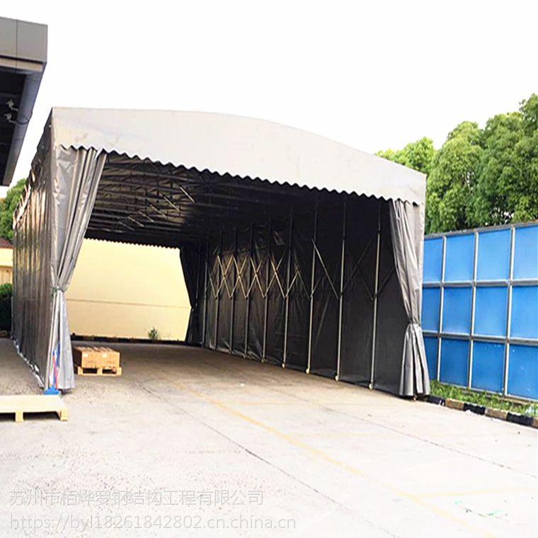无锡市江阴区雨棚布 活动推拉帐篷 活动推拉停车棚 厂家批发