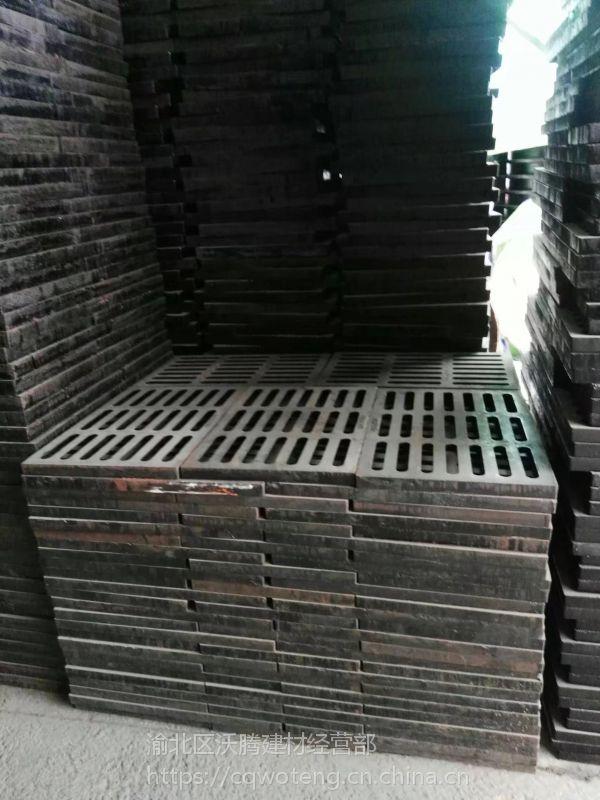 供应重庆河北聚丰砌砖偏沟式球墨单箅雨水口 球墨铸铁图片