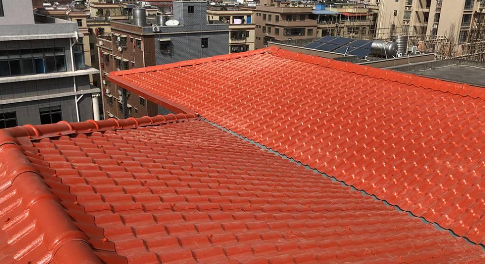 惠州合成树脂屋顶瓦批发 抗风防震塑料瓦直销厂家