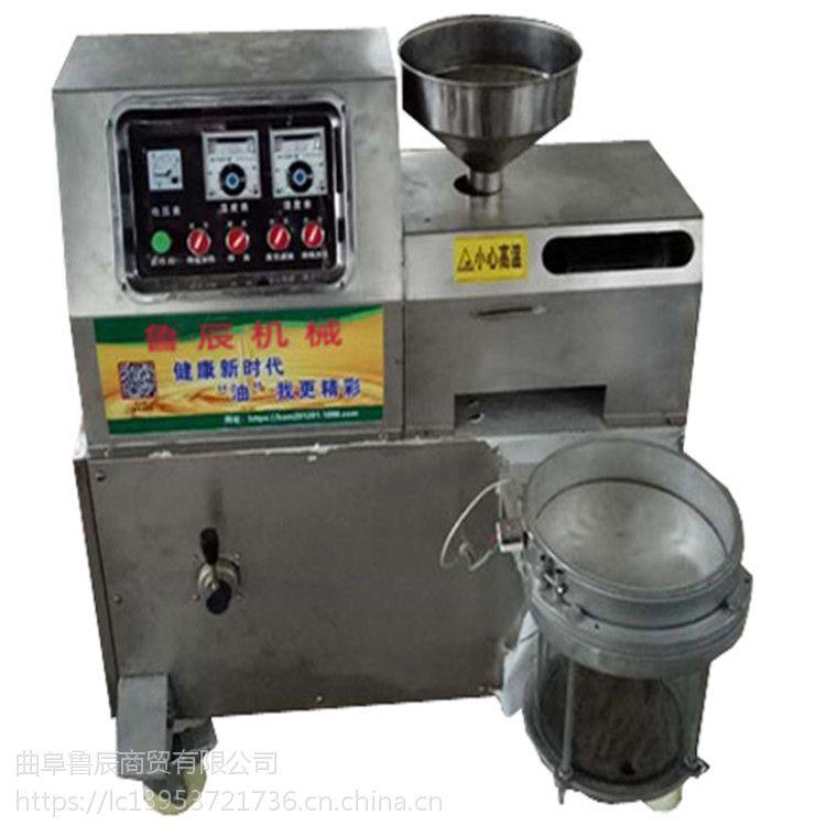 花生榨油机哪里好 优质小型榨油机多少钱 豆油机厂家