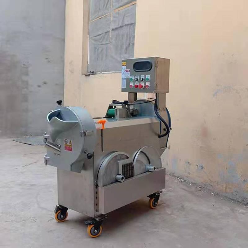 小型家用自动切菜机 启航豆腐皮切丝机 加工定制青刀豆切段机