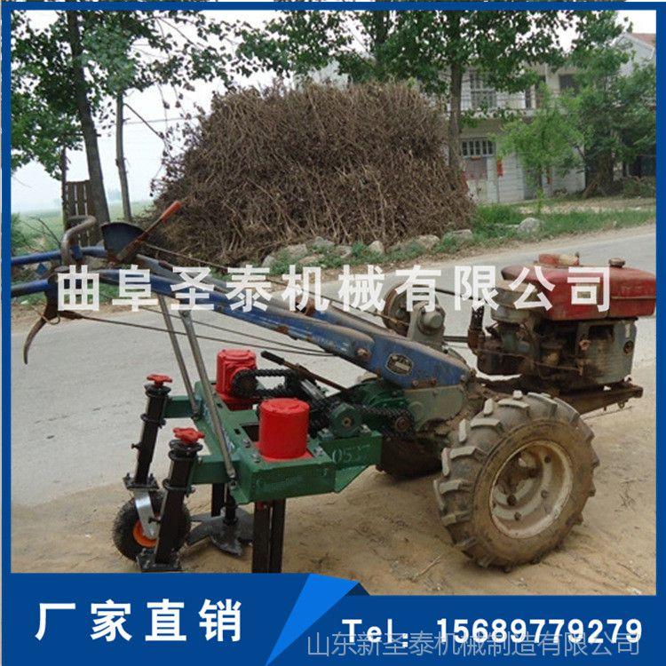大蒜柴油收获机 手扶车带大蒜挖蒜机 链条式大蒜收获机 厂家直销