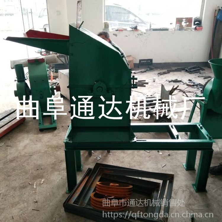 沙克龙粉草机 新型除尘节能粉碎机 通达牌 锤片式粉碎机 生产厂家