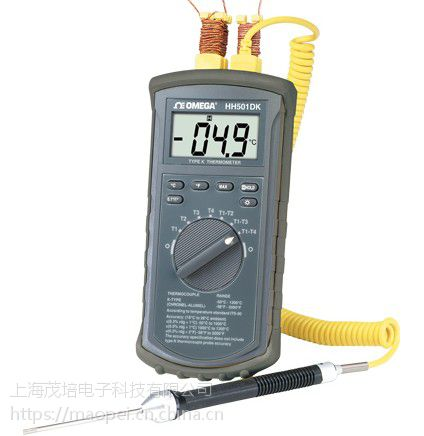 HH501DK 4通道K型温度计 美国Omega欧米茄正品