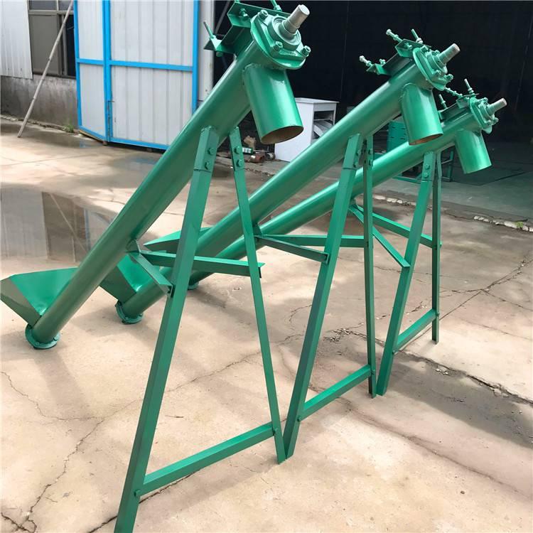 饲料颗粒螺旋提升机 水泥绞龙上料机宏瑞定制各种型号