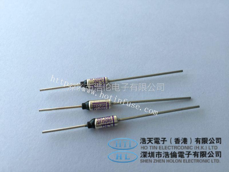 浩伦电子原装正品NEC温度保险丝 SF**R0系列 250V 15A热熔断体