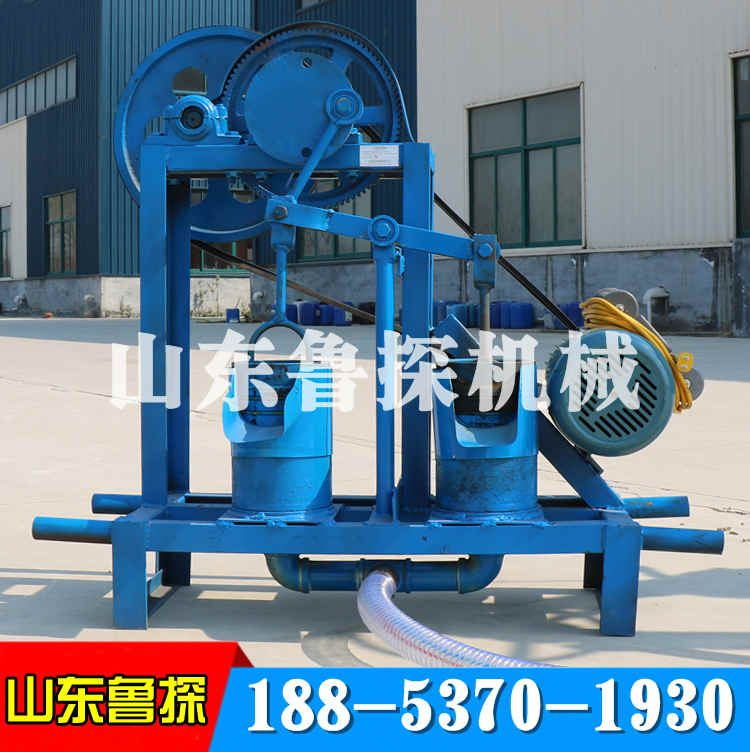 山东鲁探单缸水井钻机回转式钻机