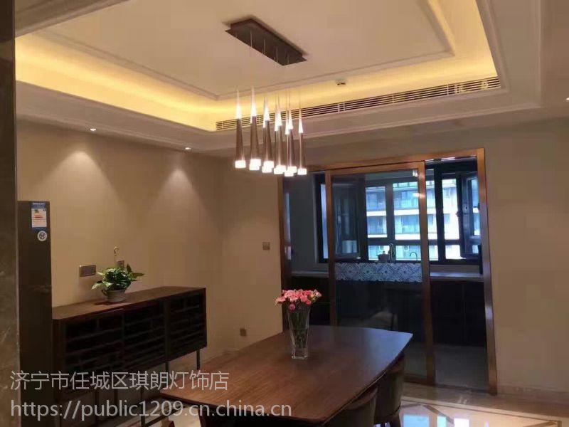 济宁新特丽LED吊灯客厅灯饰现代灯银河系列 餐厅客厅led灯 现代简约3000K