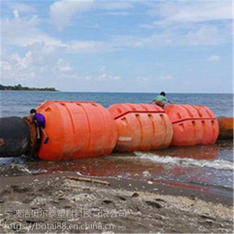 内河挖沙船管线浮子塑料浮筒价格