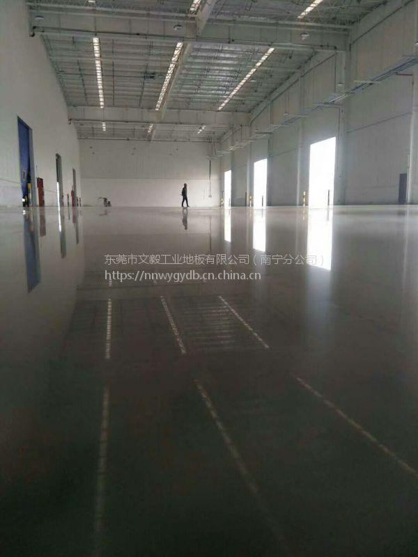 深圳粤海车间水泥钢化地板-招商工业地板硬化处理