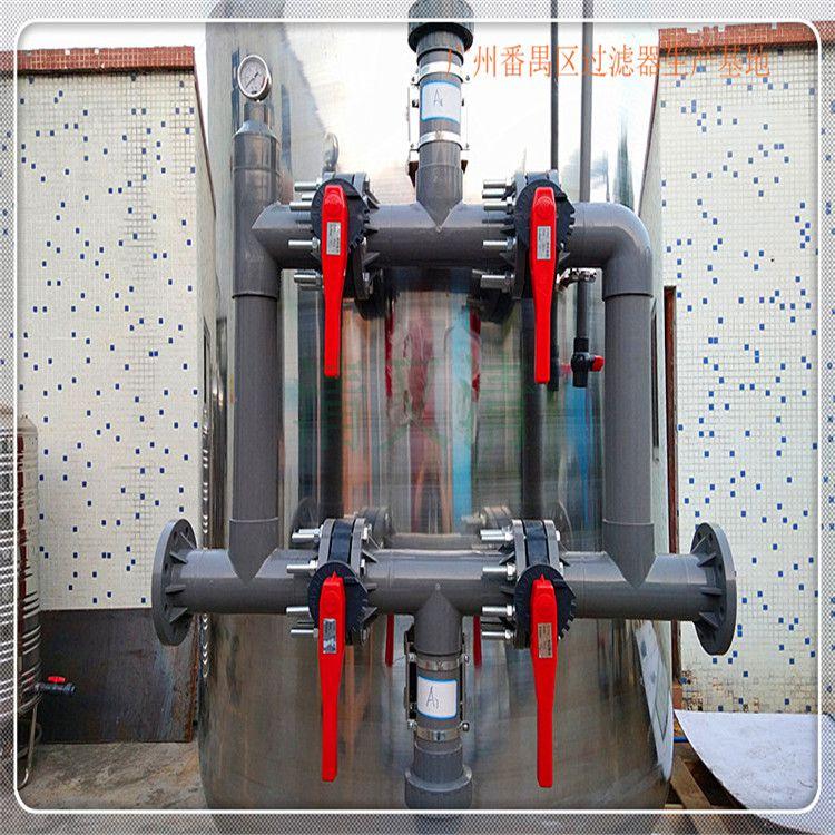 巩义市不锈钢大型水处理过滤罐污水深度处理设备机械过滤器石英砂清又清厂家销售