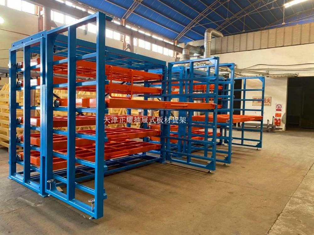 立体阁楼 重载货架生产厂家 西安汽车配件仓库