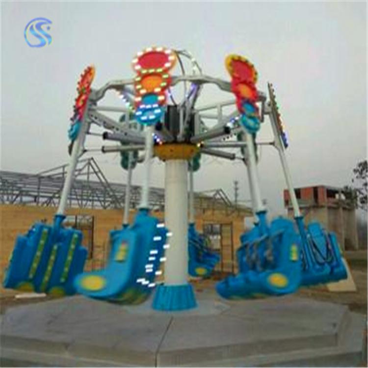 户外广场游乐设备空中射击儿童游乐场玩具三星厂家定制