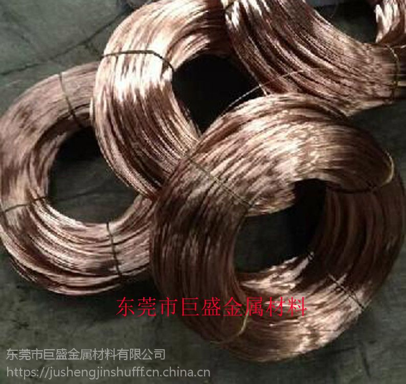异形弹簧用磷铜线,2.4mm磷铜线