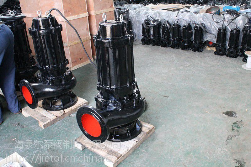 QW系列潜水排污泵200QW250-6-7.5KW厂家直销,立式排污泵型号参数