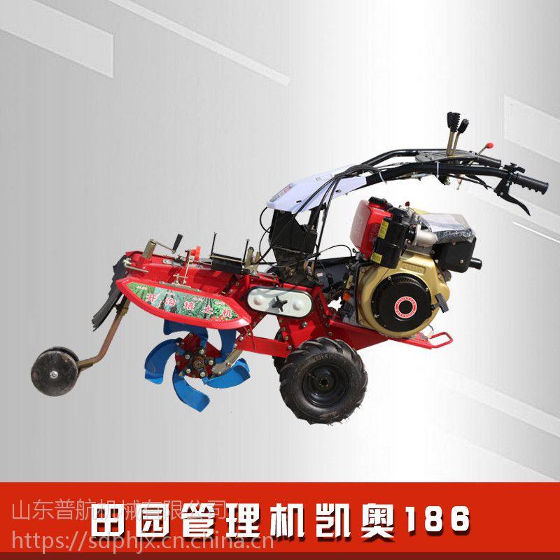 普航手扶拖拉机开沟机 不用人手扶也可以使用的开沟机 旋耕松土机质保机械