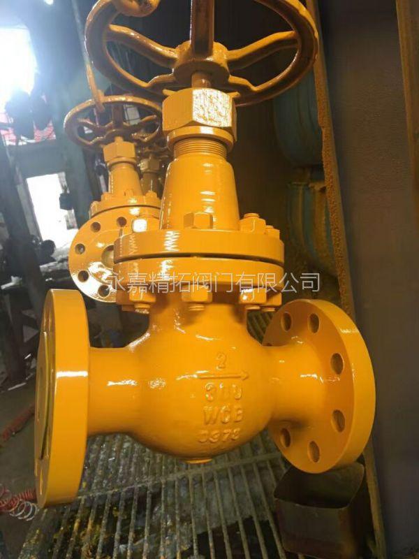 J41N-16P 不锈钢氨用截止阀 DN15 J41N 永嘉精拓阀门
