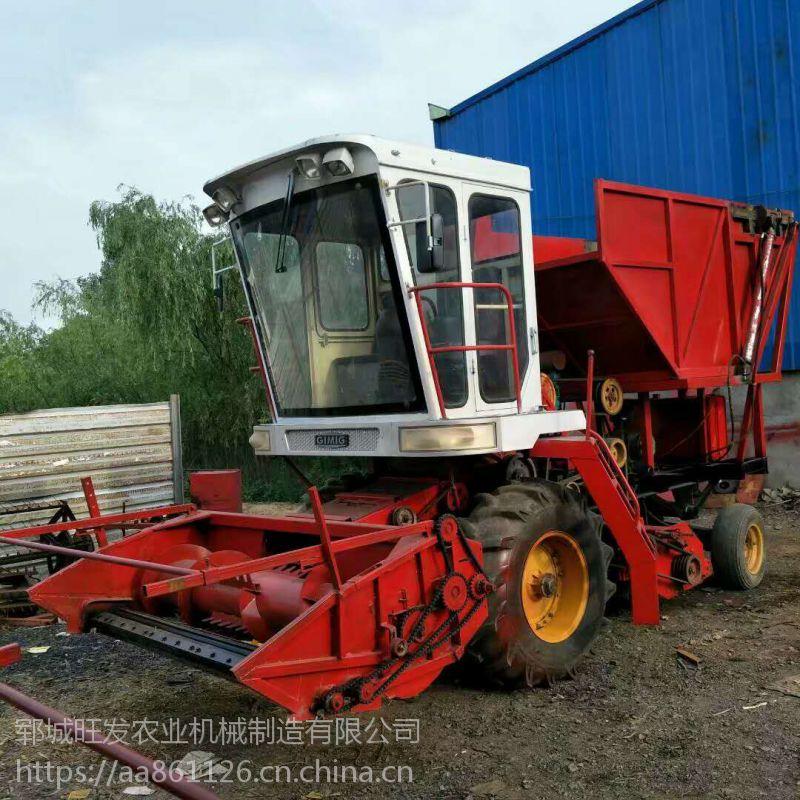 厂家特卖牧草粉碎青储机 玉米秸秆青储机视频效果